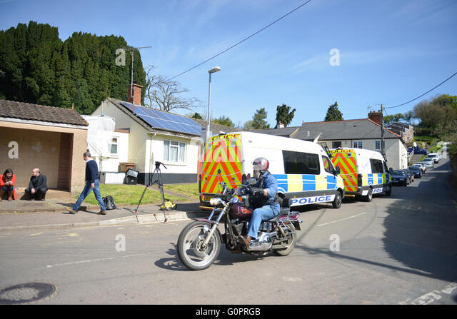 Bradninch, Devon, UK. 4th May, 2016. Police investigation at former home of David and Pauline Williams. © @camerafirm/Alamy - Stock Image