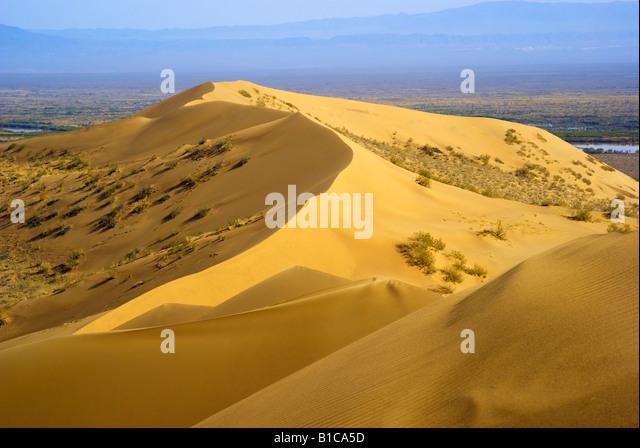 Sun dune - Stock Image