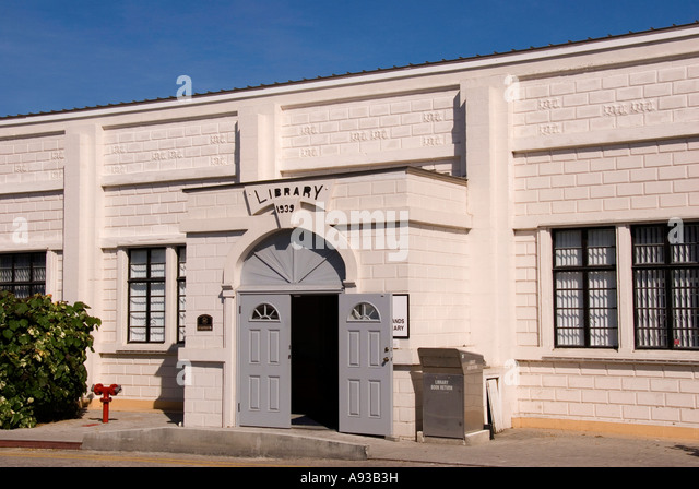old town library building Grand Cayman George Townhistoric landmark building - Stock Image