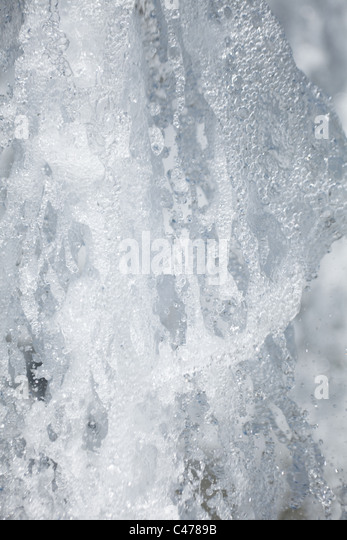 Spray Water for background - Stock Image