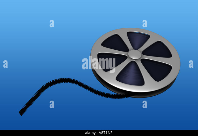 Film reel - Stock-Bilder