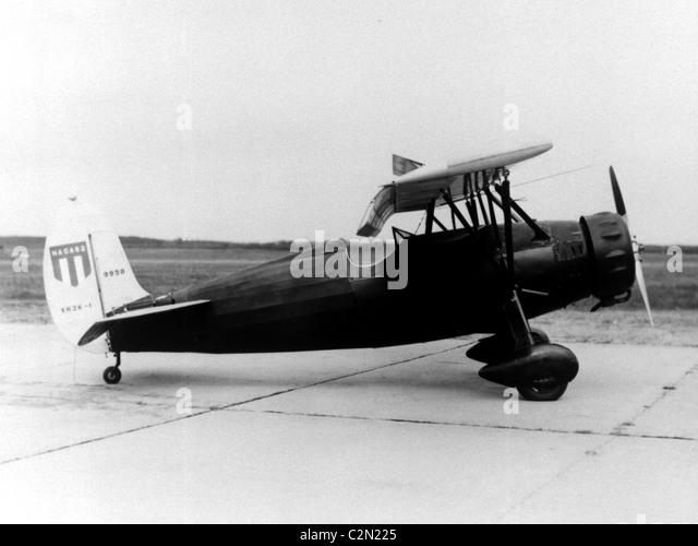 Fairchild XR2L-1, Fairchild 22 monoplane aircraft - Stock Image