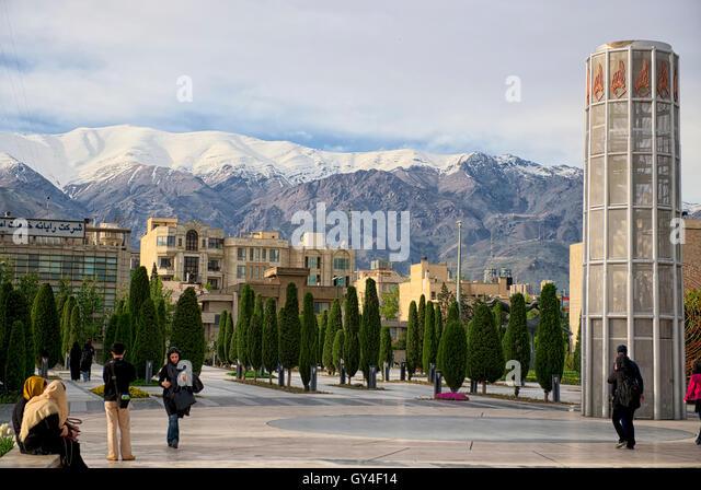 Taken@Tehran, Iran - Stock Image