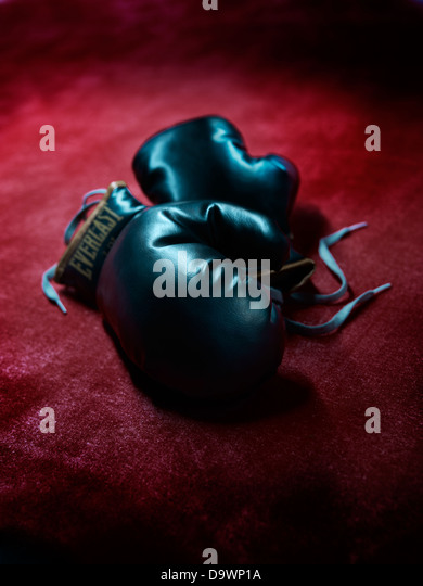 boxing gloves - Stock Image