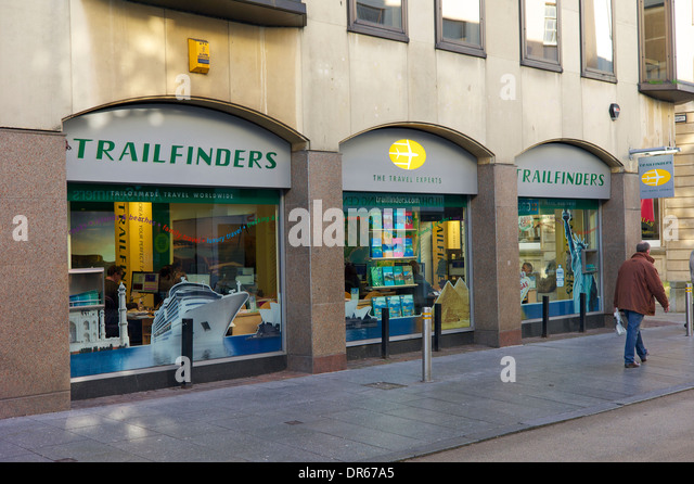 Trailfinders,  UK - Stock-Bilder