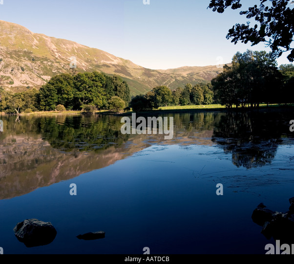 Ullswater The Lake District Cumbria England UK - Stock Image