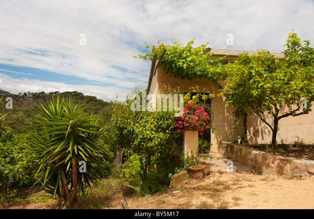 Spanish country house stock photos spanish country house for Ametzola casa rural