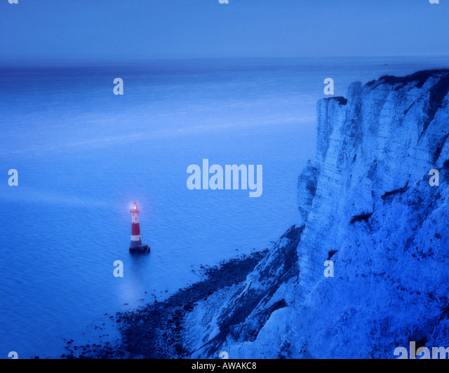 GB - EAST SUSSEX: Beachy Head Lighthouse - Stock Image