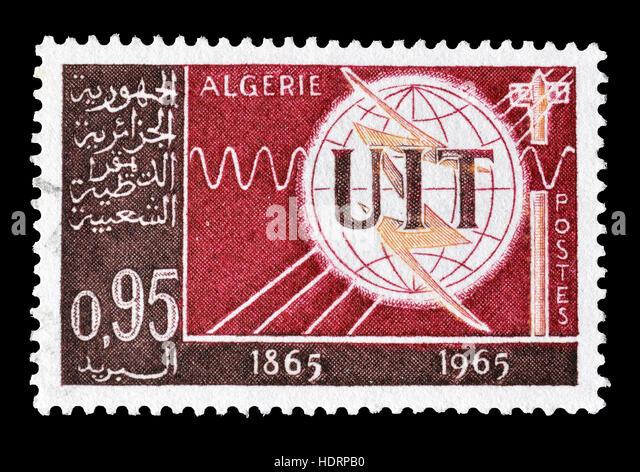 Algeria  stamp 1965 - Stock Image