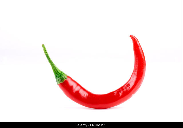 Red hot chili pepper. - Stock Image