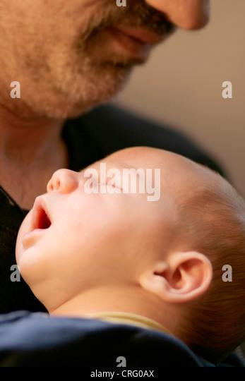 paternal love - Stock Image
