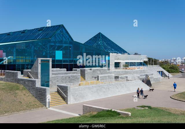 The Pyramids Entertainment Centre,Clarence Esplanade, Southsea, Portsmouth, Hampshire, England, United Kingdom - Stock Image