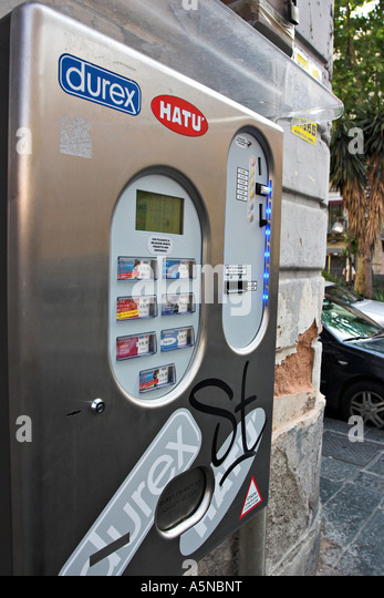 Condom Vending Machine Stock Photos Amp Condom Vending