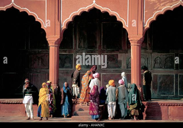Red Fort, Agra, Indien - Stock-Bilder