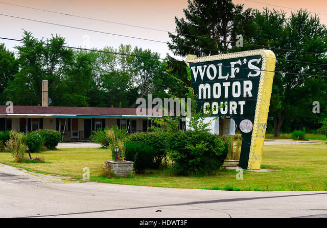 Motor court stock photos motor court stock images alamy for Griffith motors home pa