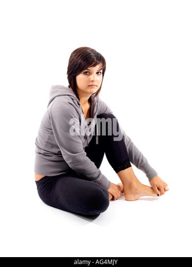 Young Woman Model Released - Stock Image