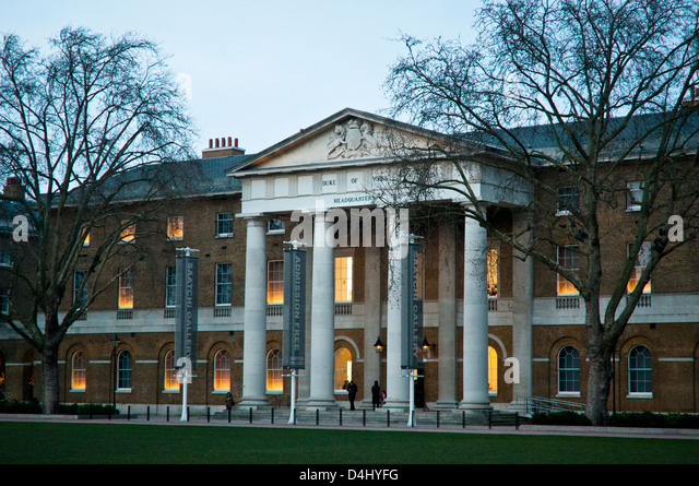 Saatchi Gallery, Duke of Yorks Headquarters, Chelsea, London, SW3, UK - Stock Image