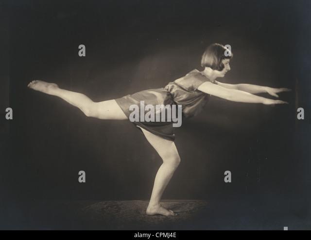 Gymnastics, 1927 - Stock Image