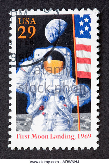 US postage stamp - Stock-Bilder