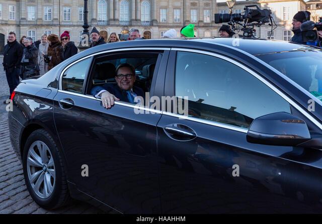New Danish Economy and Interior Minister Simon Emil Ammitzbøll, Copenhagen, Denmark - Stock Image