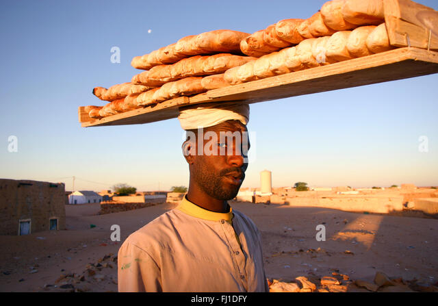 Mauritania people and places - Stock Image
