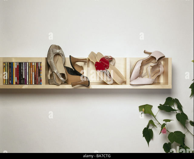 Wall cd shelf cd s shoes room plant detail shelf wall shelf music cd