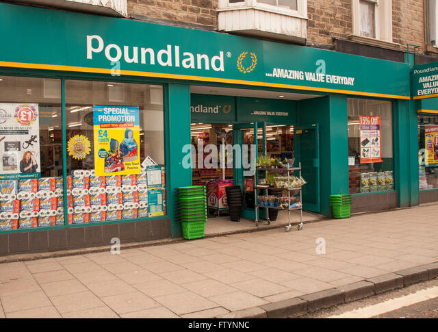 Poundland Shop Stock Photos Poundland Shop Stock Images