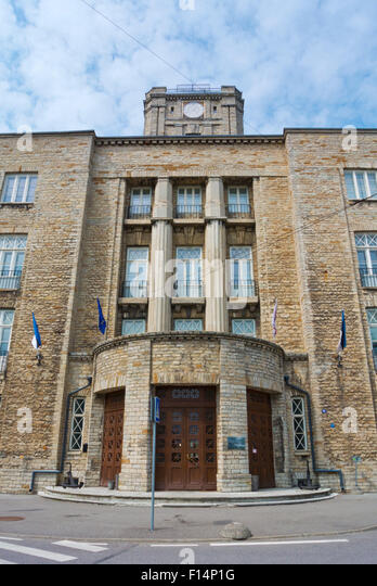 Estonian Maritime Academy, Kopli district, Tallinn,Estonia, Europe - Stock Image