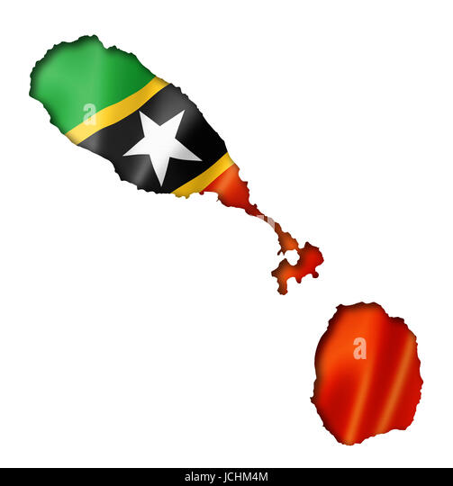 Who Flies To St Kitts: Saint Kitts And Nevis Flag