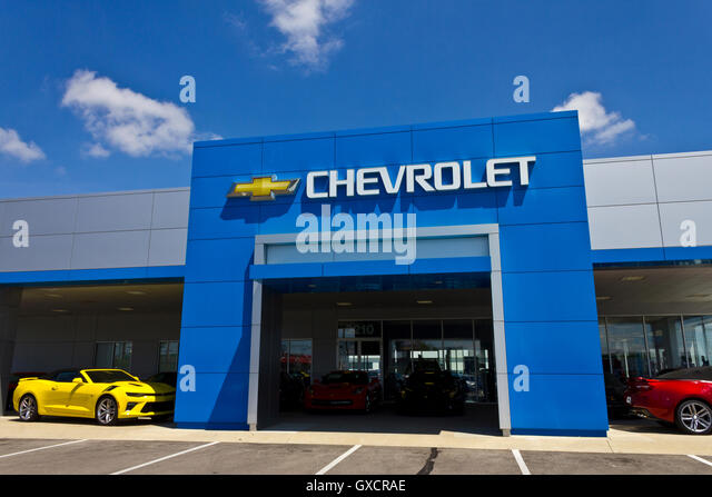 General Motors Dealership Stock Photos General Motors