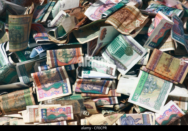 myanmar money - Stock-Bilder
