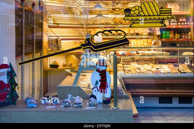 shop german bakery stock photos shop german bakery stock images alamy. Black Bedroom Furniture Sets. Home Design Ideas