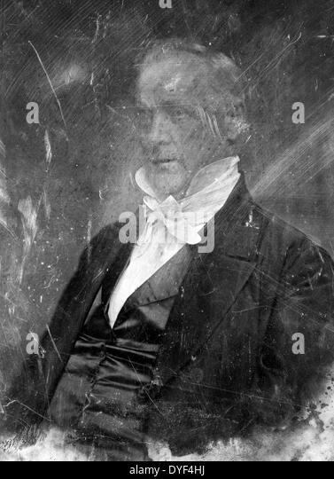 President James Buchanan 1850. - Stock-Bilder