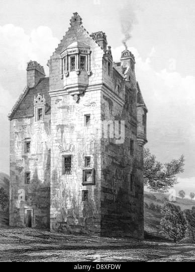 Garden Centre: Maybole Castle Stock Photos & Maybole Castle Stock Images