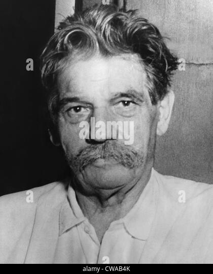 Doctor Albert Schweitzer (1875-1965), Nobel Prize winning physician, philosopher, and musician,  1949.. Courtesy: - Stock Image