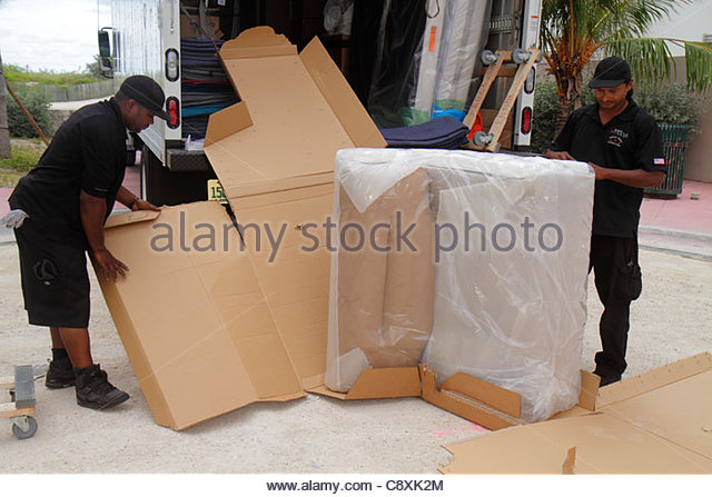Removing Furniture Stock Photos Removing Furniture Stock