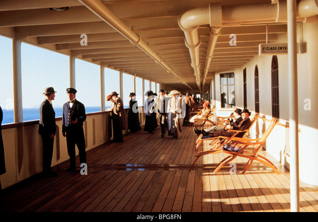 Titanic Deck Stock Photos & Titanic Deck Stock Images - Alamy