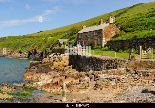 Cornwall Coastal Cottage Stock Photos Amp Cornwall Coastal