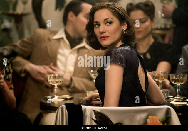 ALLIED (2016)  MARION COTILLARD  ROBERT ZEMECKIS (DIR)  MOVIESTORE COLLECTION LTD - Stock-Bilder