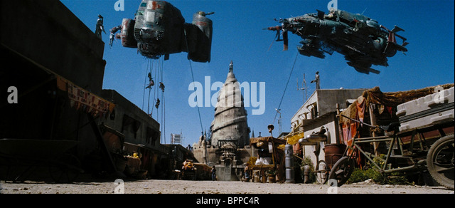 THE REAVERS LAUNCH ATTACK SERENITY (2005) - Stock Image