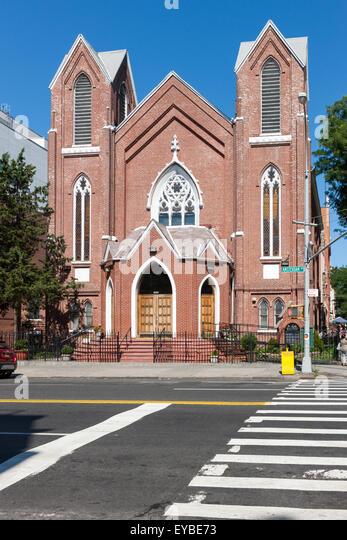 St. Luke AME Church in Harlem in New York City. - Stock Image