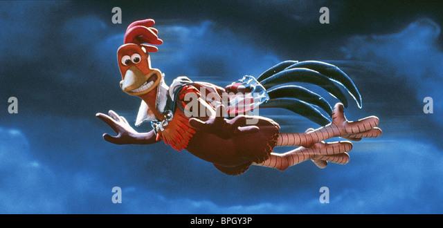 ROCKY CHICKEN RUN (2000) - Stock Image