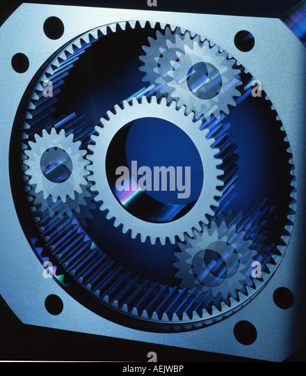 Planetary gears - Stock Image
