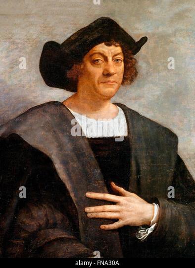 Christopher Columbus. - Stock-Bilder