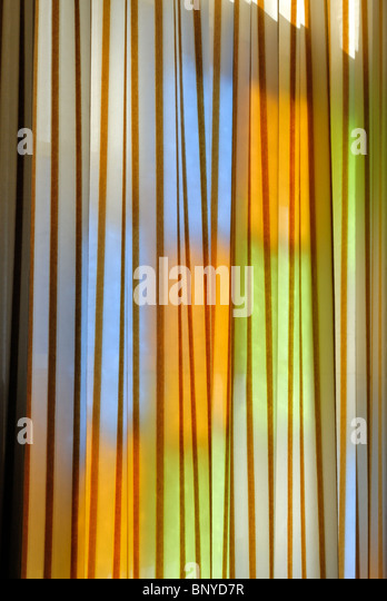Abstract colors yellow blue orange green and brown - Stock Image
