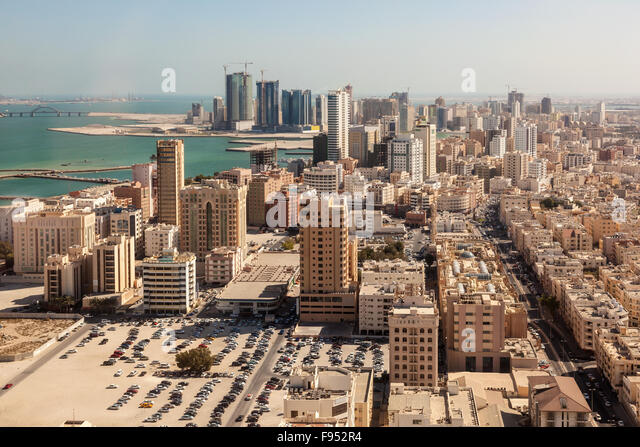City of Manama, Bahrain - Stock Image