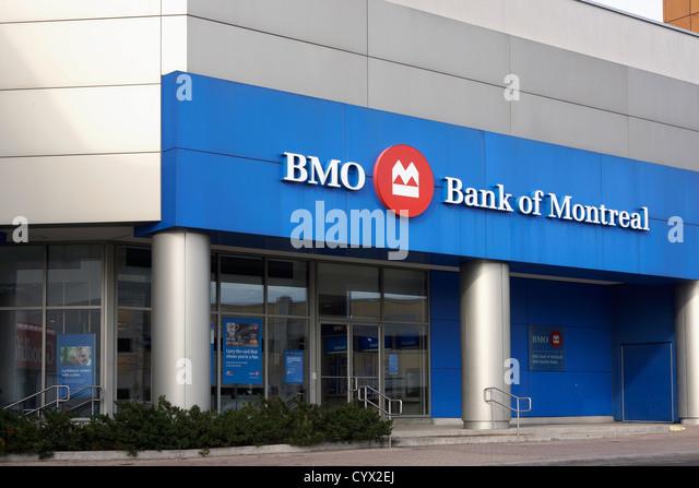 BMO, Bank of Montreal - Stock Image