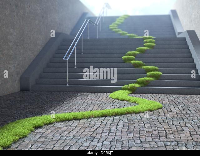 Urban ecology concept - Stock Image