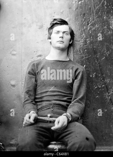Lewis Thornton Powell, Lewis Paine, Lewis Payne, one of the conspirators in the assassination of President Lincoln. - Stock Image