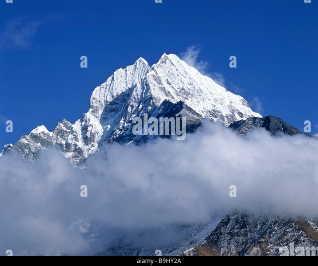 Mount Thamserku, 6632 metres, Khumbu, Himalayas, Nepal, South Asia - Stock-Bilder